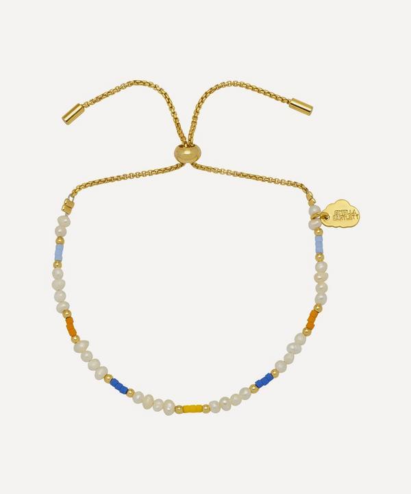 Estella Bartlett - Gold-Plated Pearl and Colour Pop Beaded Bracelet