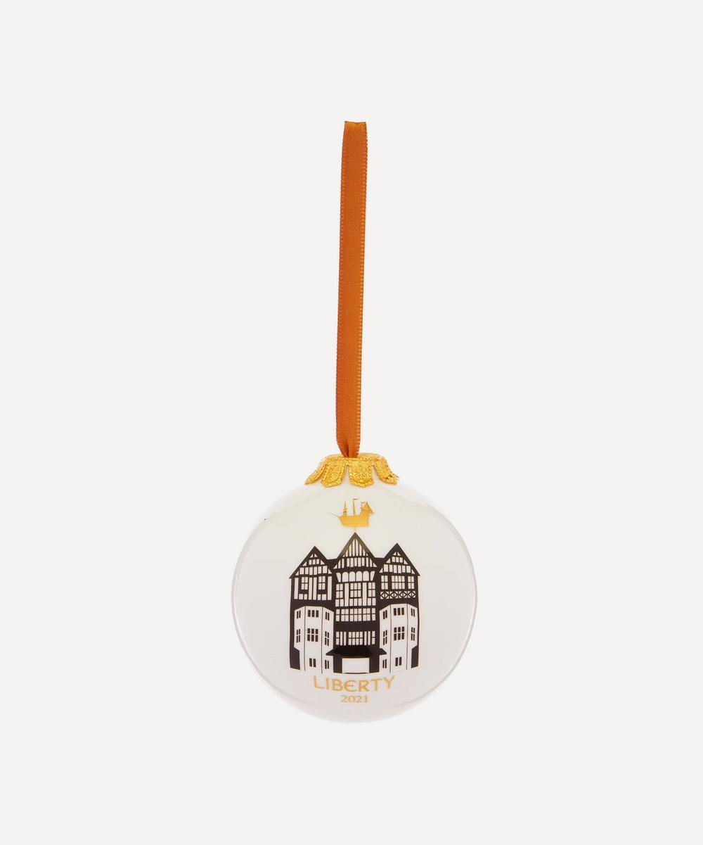 Unspecified - Liberty Building Bone China 2021 Bauble