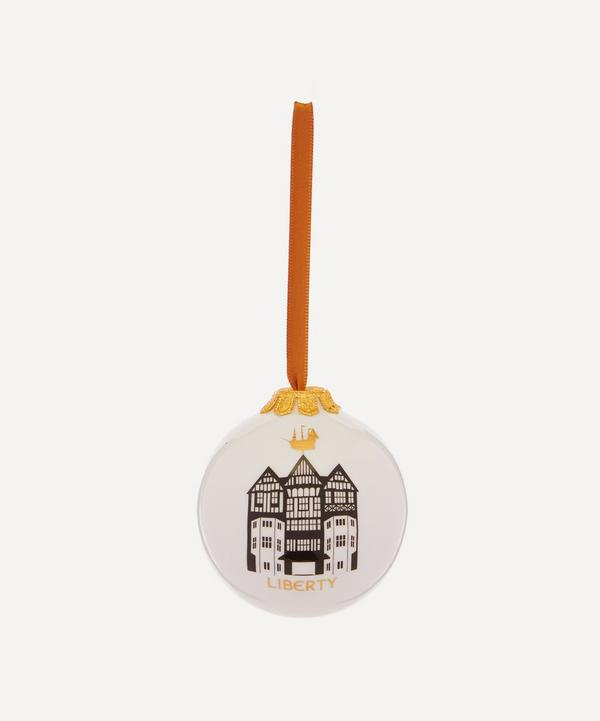 Unspecified - Liberty Building Bone China Bauble