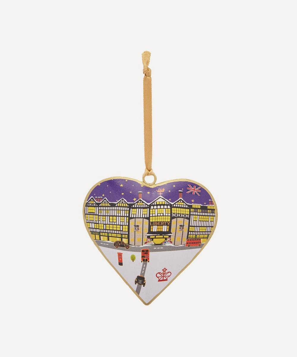 Tinker Taylor - Liberty Tin Heart Decoration