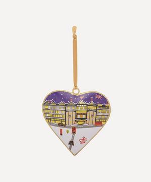 Liberty Tin Heart Decoration