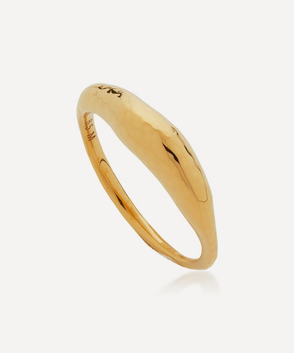 Monica Vinader Rings GOLD PLATED VERMEIL SILVER DEIA RING