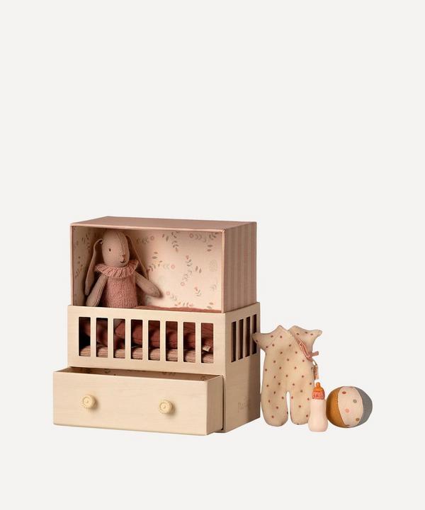 Maileg - Micro Bunny Baby Room Toy