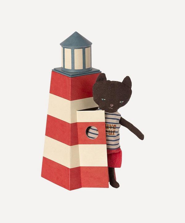 Maileg - Cat in Sauveteur Tower Toy