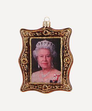 Queen Elizabeth II Portrait Tree Ornament