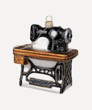Sewing Machine Tree Ornament