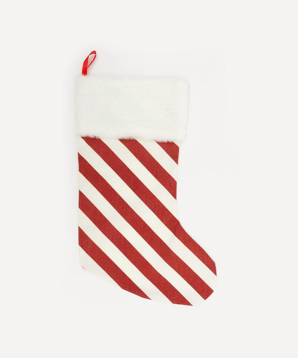 Unspecified - Candy Cane Stripe Stocking