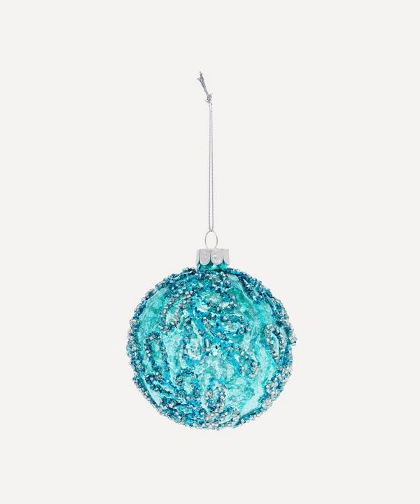Unspecified - Beaded Glass Bauble