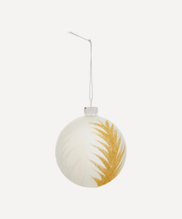 Unspecified - Feather Glass Bauble