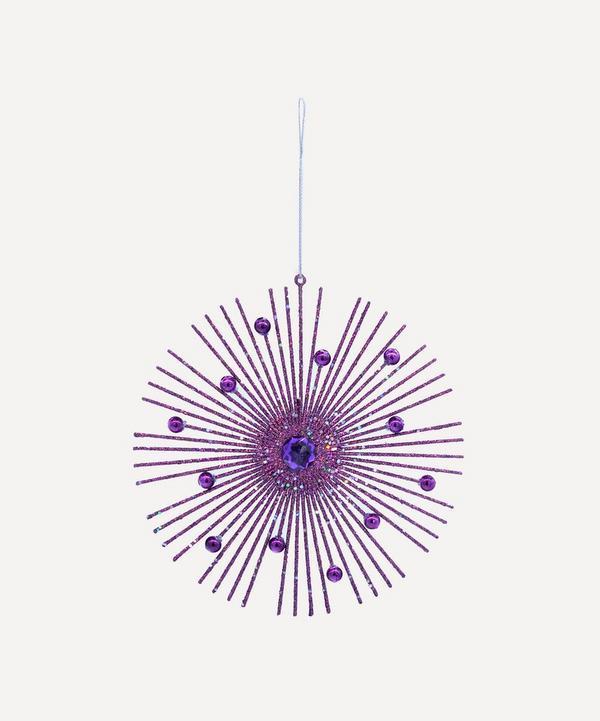 Unspecified - Glitter Starburst Tree Ornament