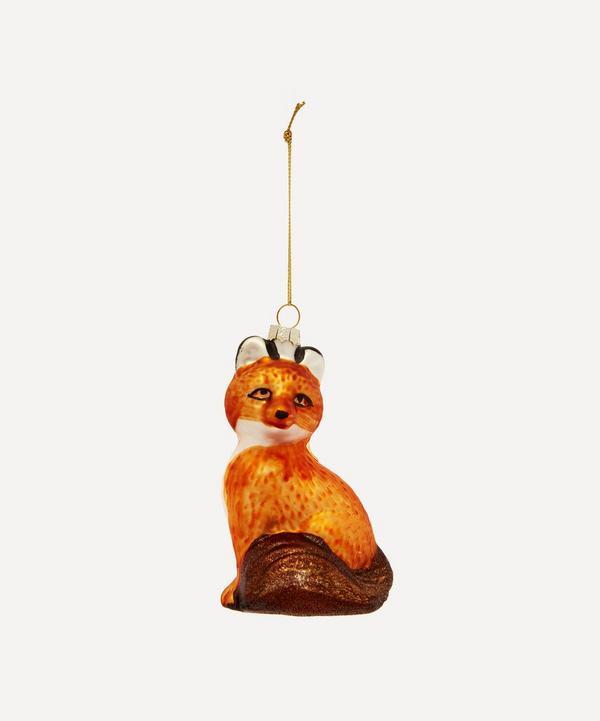 Unspecified - Fox Glass Tree Ornament