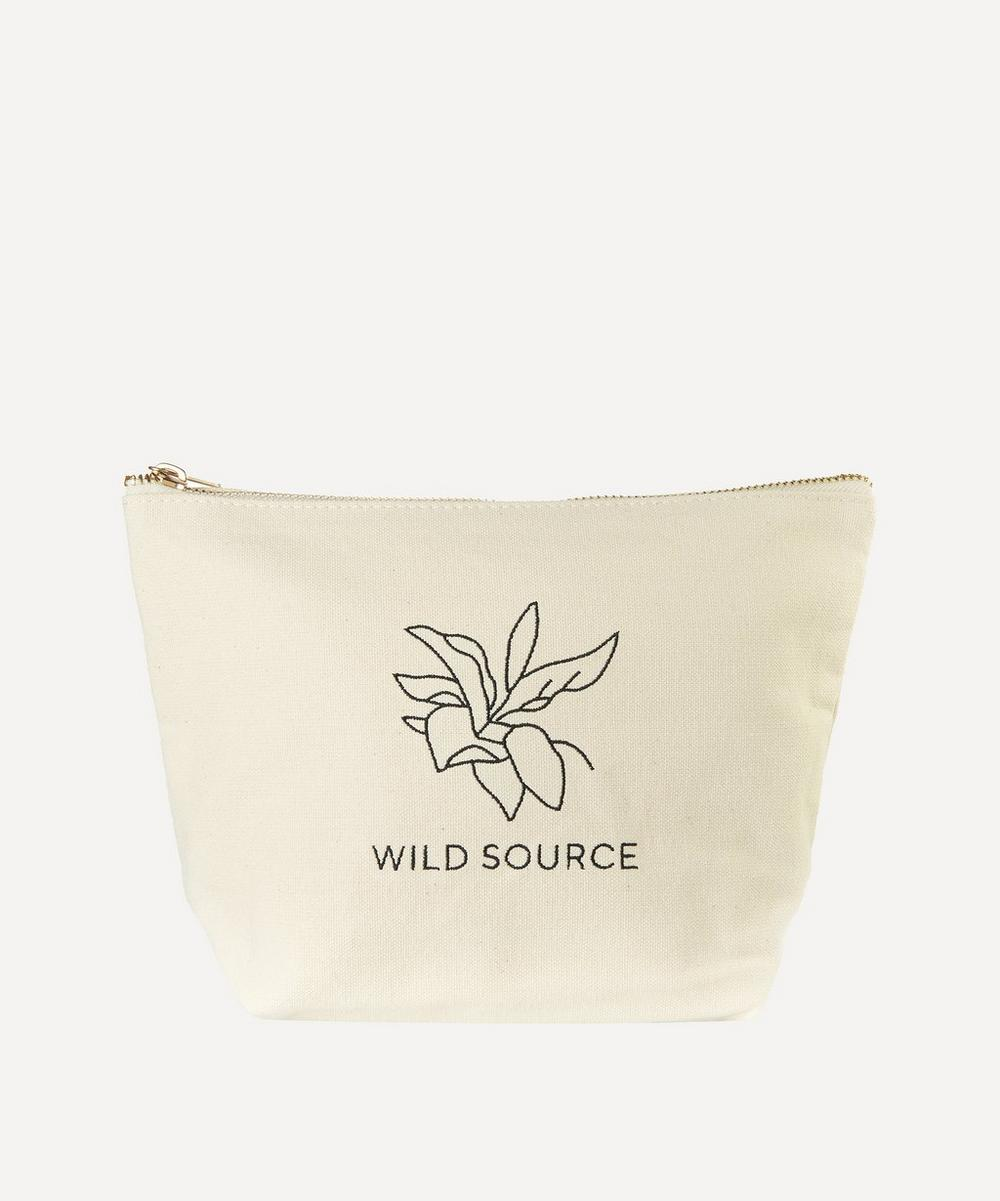 Wild Source - Rituals Not Routines Canvas Wash Bag
