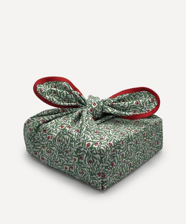 Wrapuccino - Holiday Berries Cotton Gift Wrap 35x35