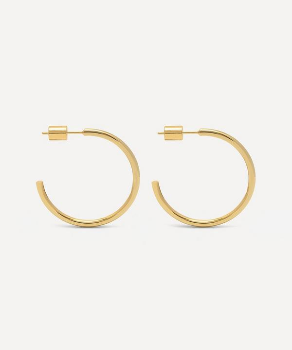 Estella Bartlett - Gold-Plated Large Chunky Hoop Earrings
