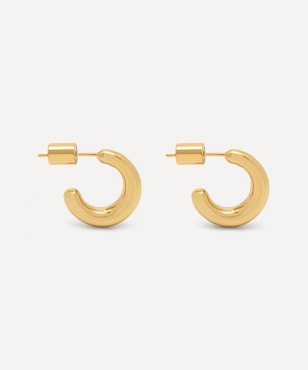 Estella Bartlett - Gold-Plated Mini Chunky Hoop Earrings