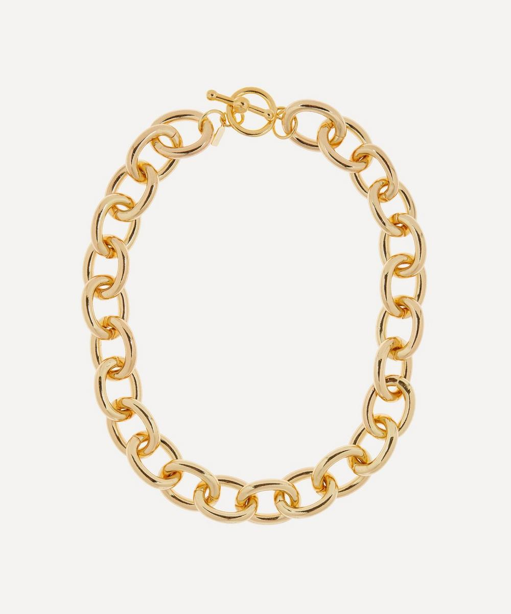 Kenneth Jay Lane - Gold-Plated Chunky Chain Necklace