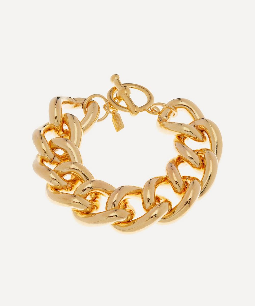 Kenneth Jay Lane - Gold-Plated Chunky Chain Bracelet