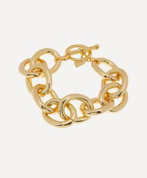 Gold-Plated Chunky Chain Bracelet