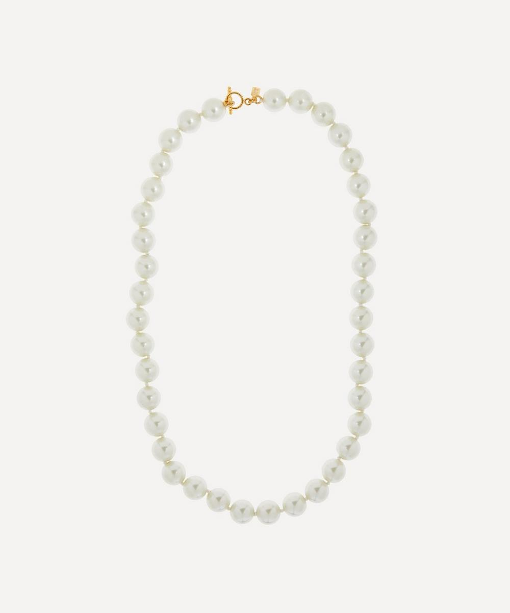 Kenneth Jay Lane - Faux Pearl Necklace