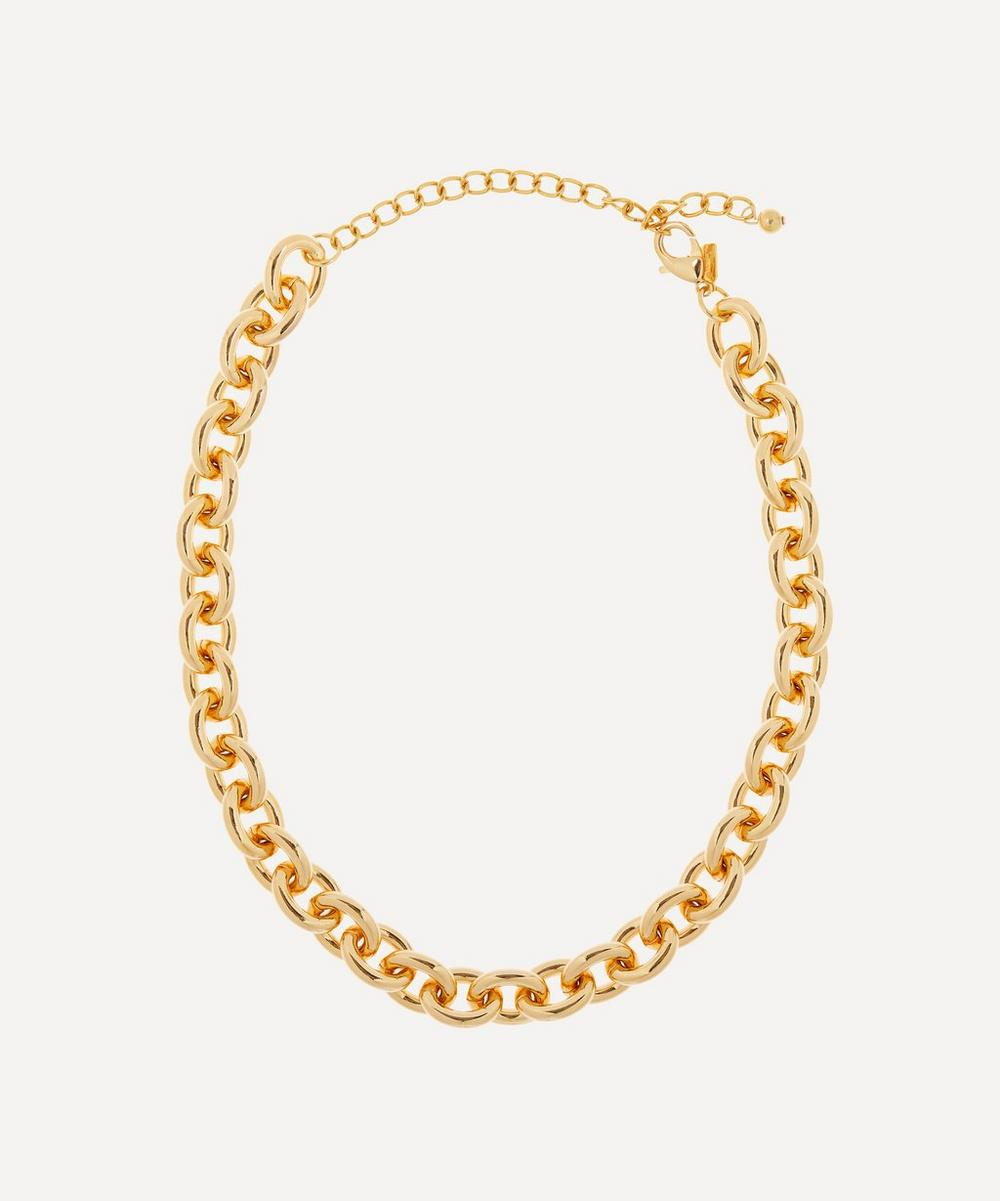 Kenneth Jay Lane - Gold-Plated Chain Necklace