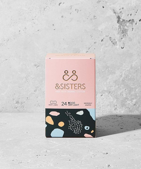&SISTERS - Organic Cotton Liners in Very Light x 24
