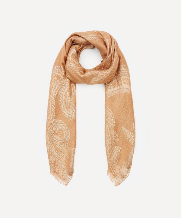 Etro - Paisley Jacquard Silk-Blend Scarf