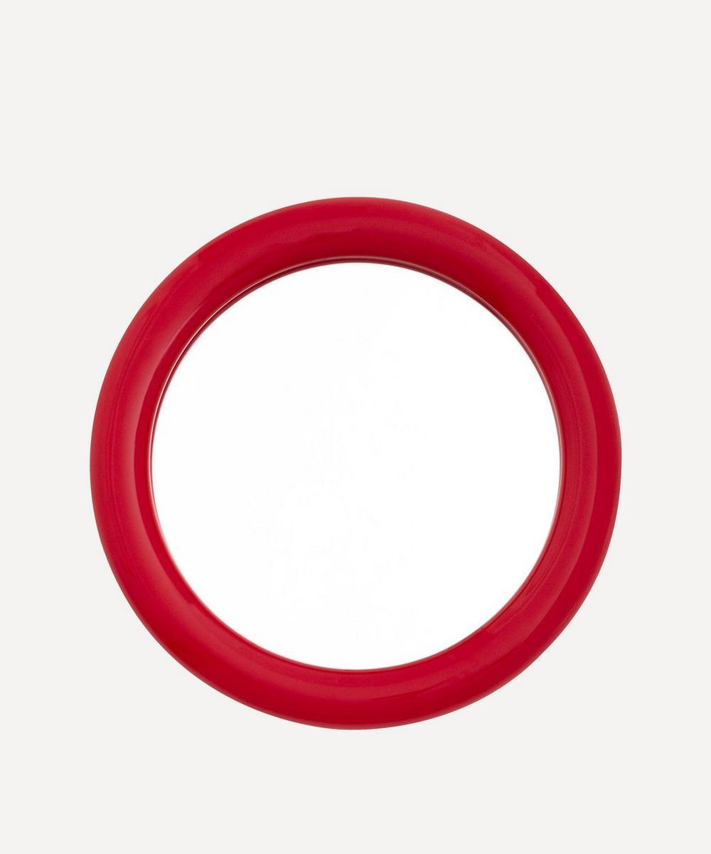 Raawii - Duplum Round Ceramic Frame Mirror