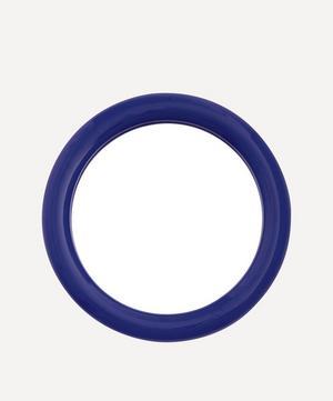 Duplum Round Ceramic Frame Mirror