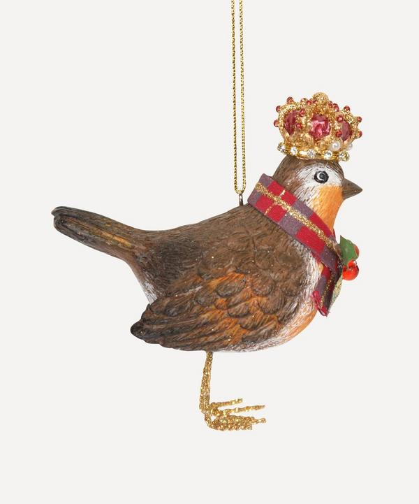 Unspecified - Robin with Crown Decoration