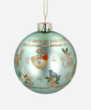 12 Days of Christmas Glass Bauble