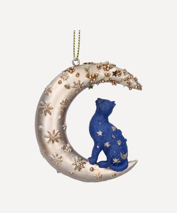 Unspecified - Cat on the Moon Tree Ornament