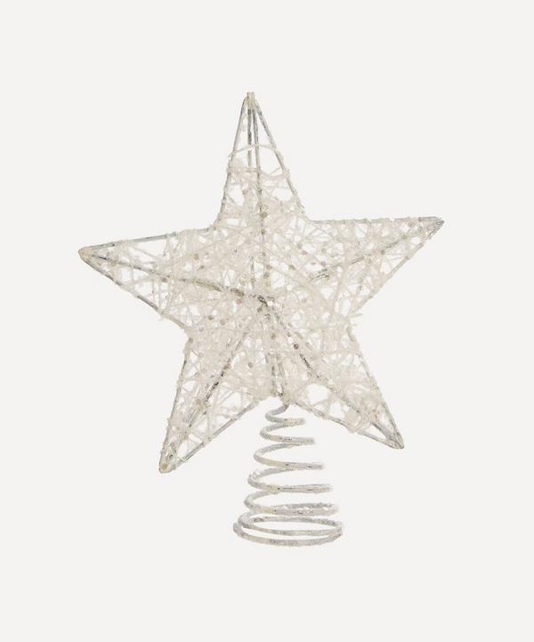 Unspecified - Glitter Mesh Star Tree Topper