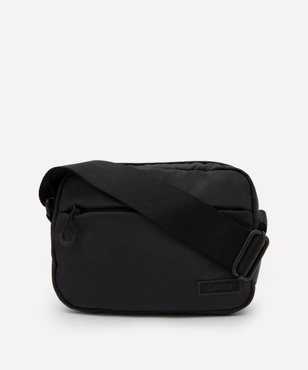 Ganni - Recycled Tech Fabric Festival Cross-Body Bag