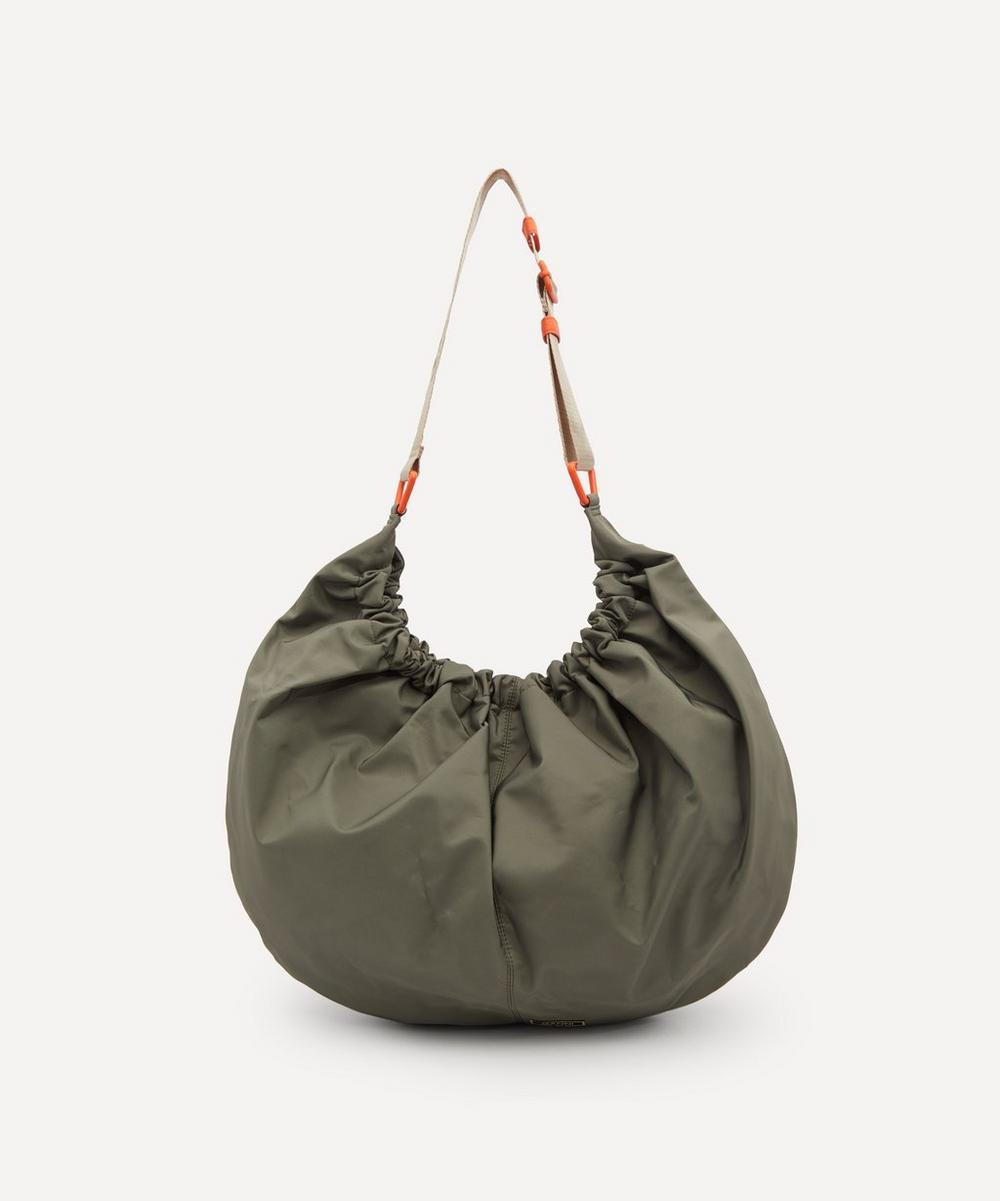 Ganni Hobo bags RECYCLED TECH FABRIC XXL HOBO SHOULDER BAG