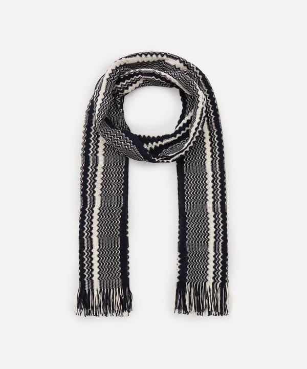 Missoni - Zig-Zag Stripe Knit Scarf