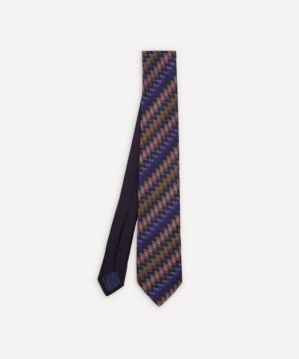 Missoni - Multi Zig-Zag Silk Tie