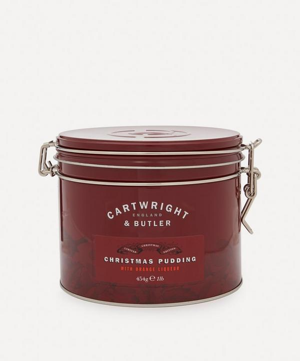 Cartwright & Butler - Christmas Pudding with Orange Liqueur 454g