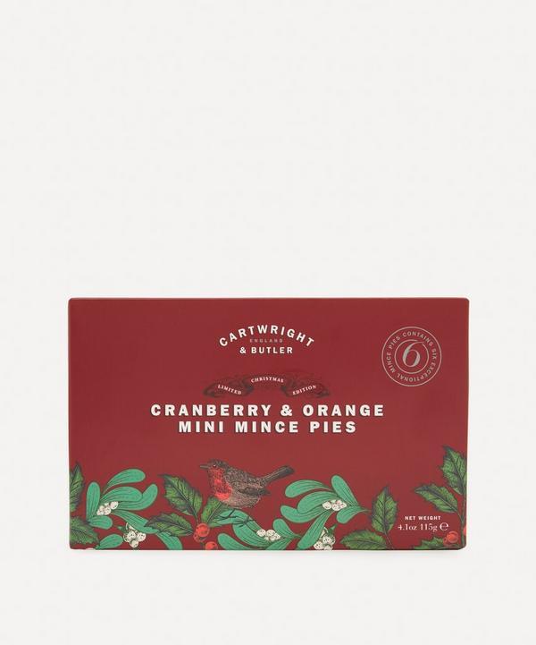 Cartwright & Butler - Cranberry & Orange Mini Mince Pies 115g