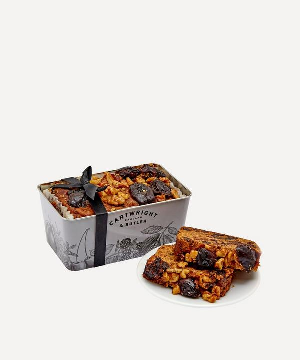 Cartwright & Butler - Date and Walnut Loaf Cake in Tin 550g