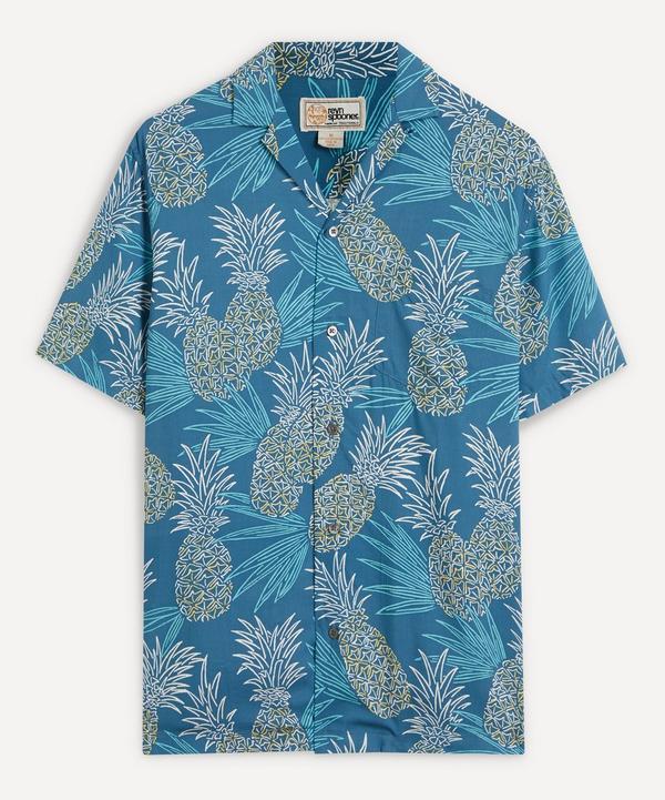 Reyn Spooner - Hawaii Gold Pineapple Camp-Collar Shirt