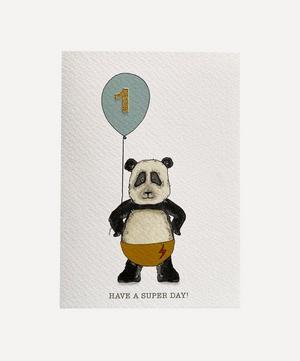 Panda Age One Card