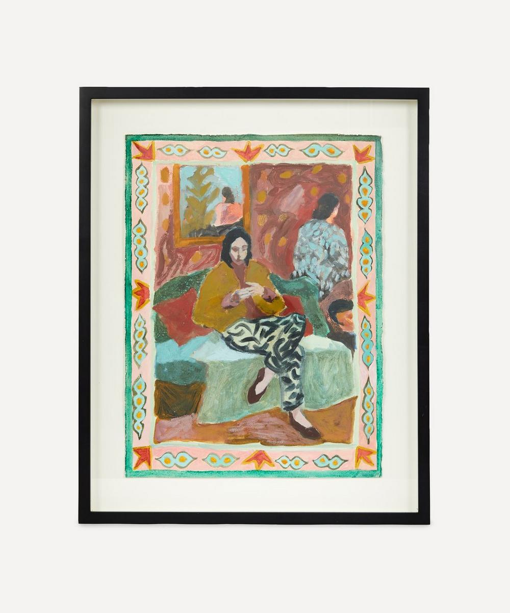 Katy Papineau - Time Inside Original Framed Painting