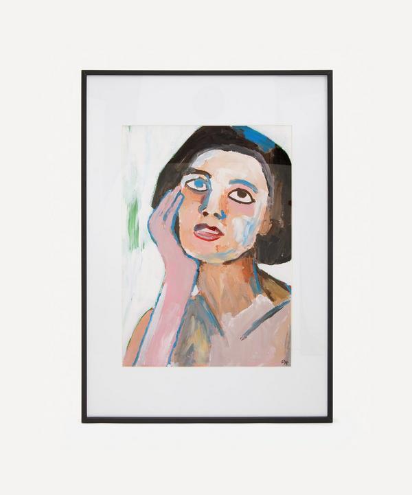 David Horgan - Sweet Seduction In A Magazine Original Framed Painting