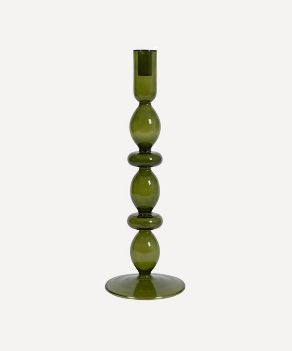 Urban Nature Culture - Refined Recycled Glass Candlestick Holder Large