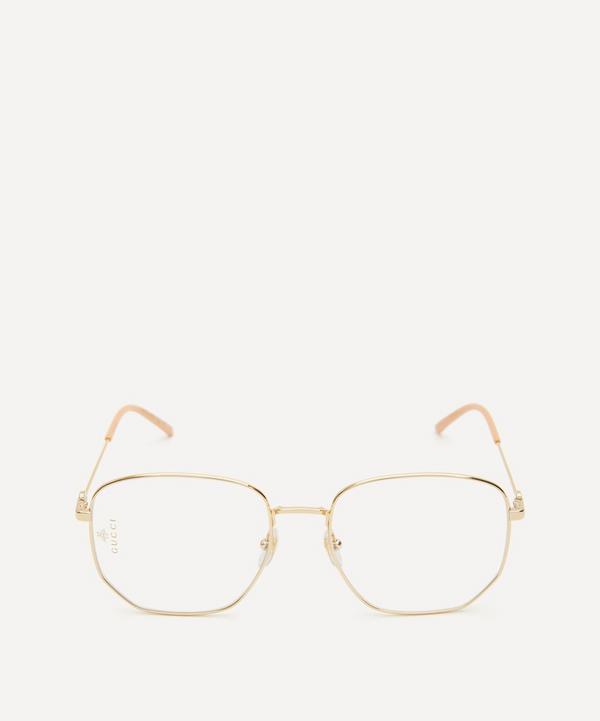 Gucci - Rectangular Metal Optical Glasses