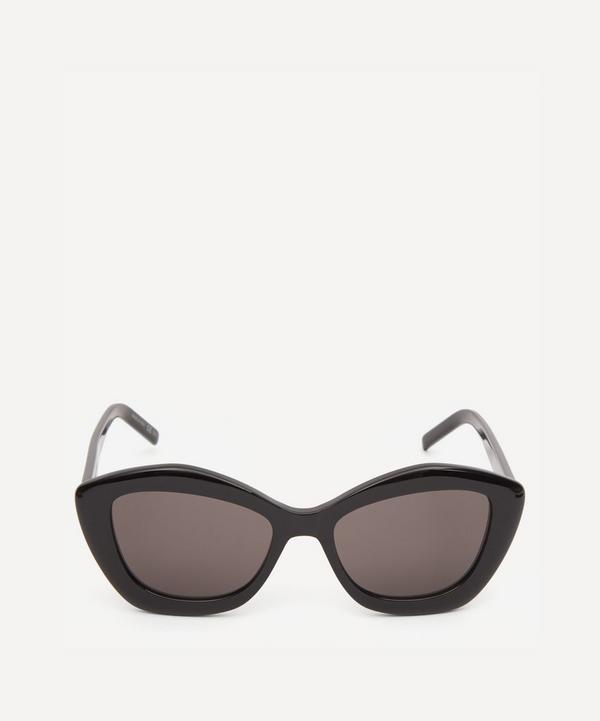Saint Laurent - Pillowed Pentagon Cat-Eye Sunglasses
