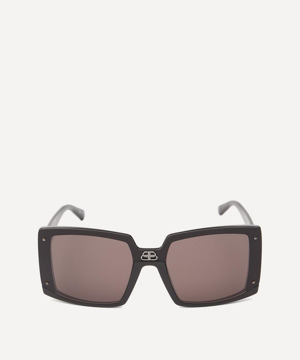 Balenciaga - Shield Square Sunglasses