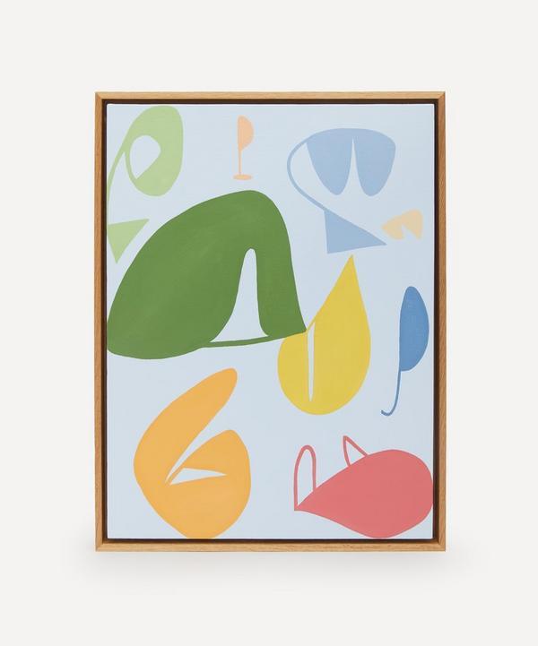 Ellie Tate - Shapey Original Framed Artwork