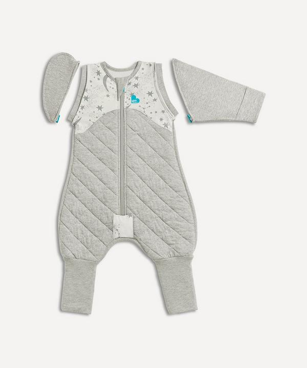 Love To Dream - Love to Swaddle UP 50/50 Transition Bag 2.5 Tog Moon and Stars Medium