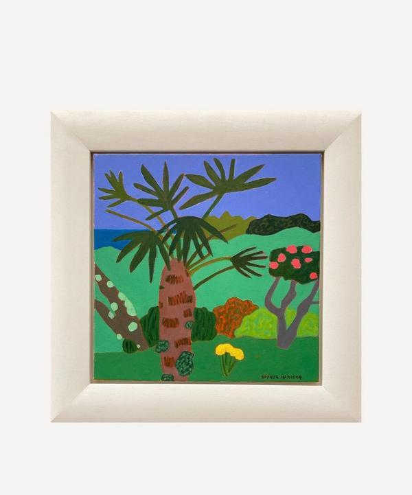 Sophie Harding - Dusk at the Gardens Original Framed Painting